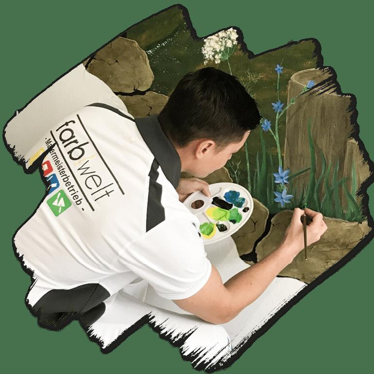 Farbwelt Feith | Individuelle Wandbemalung