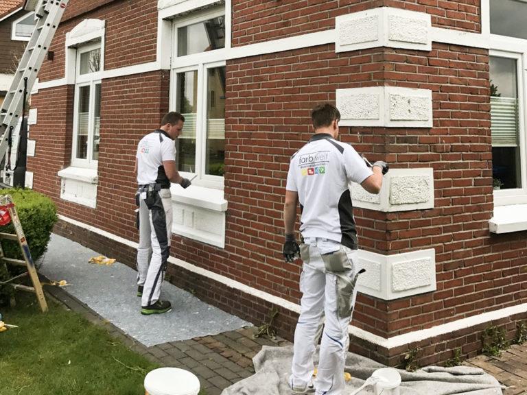 Farbwelt Feith | Fassadenarbeiten