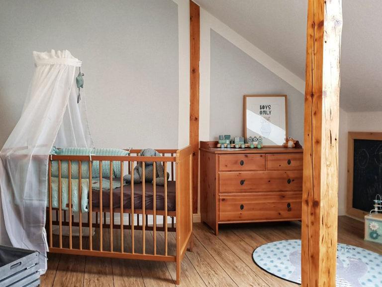 Wandgestaltung für ein Kinderzimmer