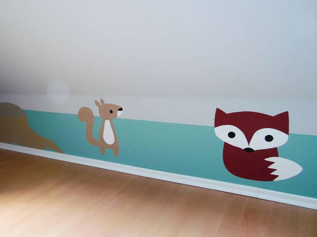 Farbwelt Feith | Tiermotive für ein Kinderzimmer