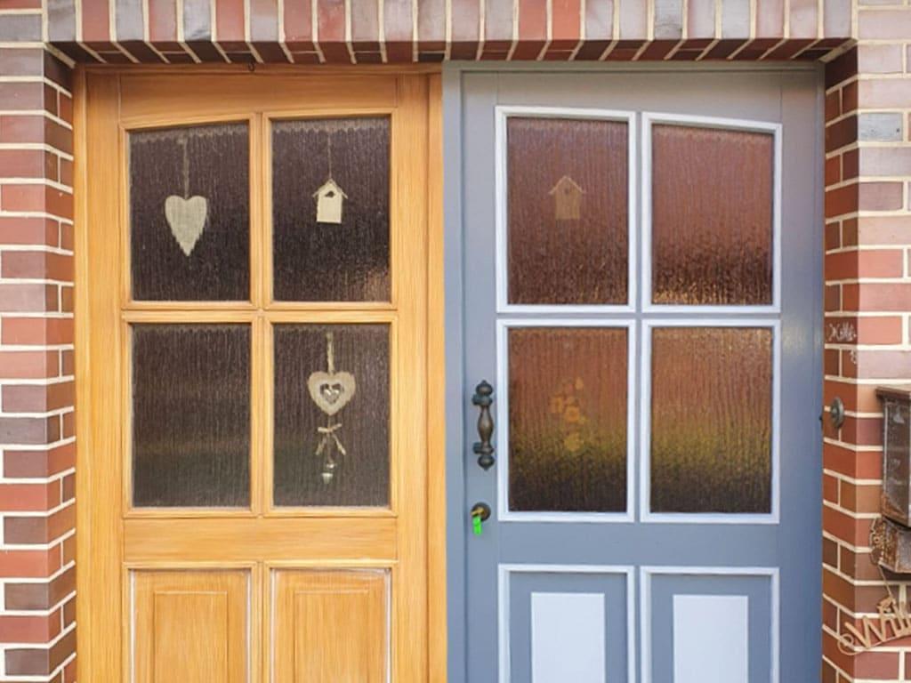 Farbwelt Feith | Haustür vorher - nachher