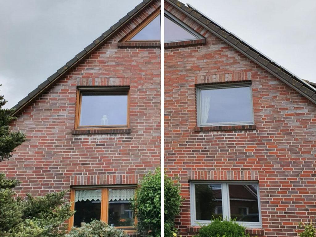 Farbwelt Feith | Hausfassade vorher - nachher
